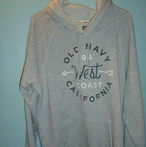 Old Navy womens plus size hoodie XL used